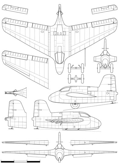 Messerschmitt Me163A Sheet 1