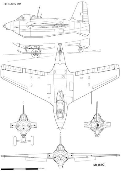 Messerschmitt Me163C