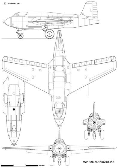 Messerschmitt Me163D