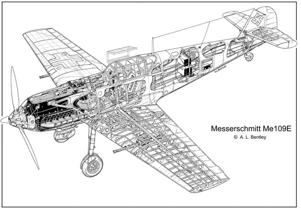 A  L  Bentley Drawings